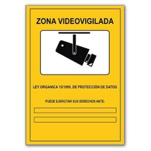 Hojas informativas de videovigilancia ayuda ley - Cartel de videovigilancia ...